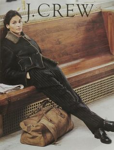 JCrew | 770 Behind The Line -- Catalog cover 1995