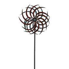 Metall Windrad gegenläüfig