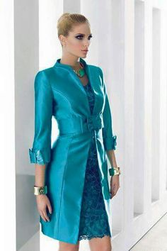 Azul lace dress and Jacket the belt can be worn over the dress of jacket, and many of our customers wear the belt over the dress only. This colour in stock and also Peal Grey Mother Of Bride Outfits, Mothers Dresses, Mother Of The Bride, Bride Dresses, Elegant Dresses, Pretty Dresses, Beautiful Dresses, Formal Dresses, Dresses 2014