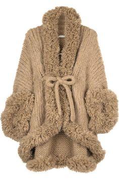 Вязание, пальто