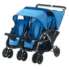 The Quad 4 Passenger Stroller j'aimerais avoir ceci, il est disponible chez target mais aux états unis seulement,,,quelqu'un sait comment je pourrais m'en procurer un,,