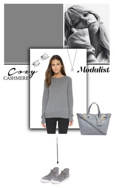 """Because its Winter"" by modalist ❤ liked on Polyvore featuring Equipment, Eddie Borgo, Valentino and rag & bone"