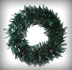 Gorgeous Feather Wreath Goose-Coquille 15 by CraftsWorldLady