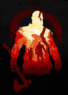 Kratos God Of War, Gaming Wallpapers, Animes Wallpapers, Arte Ninja, Fantasy Posters, The Avengers, Game Character Design, Video Game Art, Dark Souls