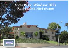 View Park real estate find home. Classical custom hilltop homes. View Park, L.A., CA 90008