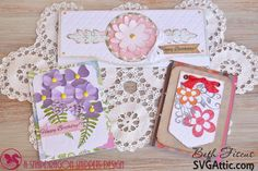 Beth's Beauties: Floral Cards from SVG Attic
