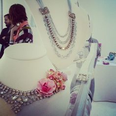 Wedding accessories at Wed Altered! A pop up show featured Celia Grace Wedding Dresses in New York