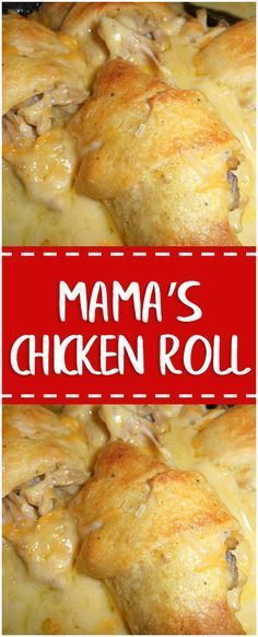 Mama's Chicken Roll #chicken #chickenrecipes #cooking #cookingtips