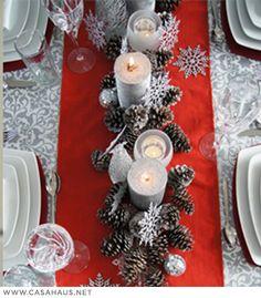 Ideas 2013 para la mesa de navidad | Deco Falabella