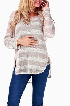 Cute reasonably priced maternity clothes on this site. I think it's time for me to finally cave and get some. :(