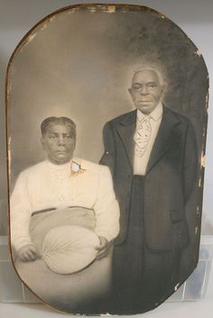 African American Couple - Oval Vintage Photo • $49.99 - PicClick