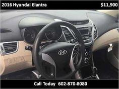 2016 Hyundai Elantra Used Cars Phoenix AZ