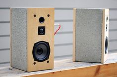 Really Solid Sound: Daniel Ballou's Cinder Speakers