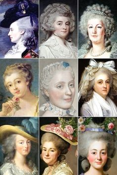 18th Century Woman's Hairstyles 03