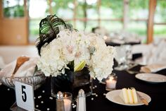 Wedding Centerpiece Ideas Black White Archives Decorating Of Party