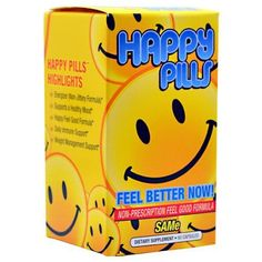 Brain Pharma Happy Pills - SAMe - 60 Capsules >>> You can find more details by visiting the image link.