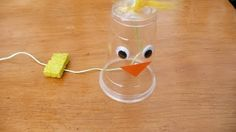 CLUCKING CHICKEN craft - it really clucks!  Macie & Jaxon would love this.  Yay for being a cool aunt!!!