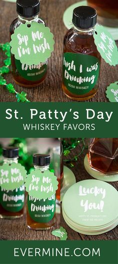 St. Patty's Day Idea | St. Patrick's Day Favor Ideas | Funny St. Patty's Day Party Ideas | Evermine.com