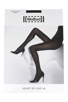 Wolford - Set Of Two Velvet De Luxe 66 Denier Tights - Black - medium