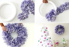 Miss Kris DIY Garland Christmas Wreath 2