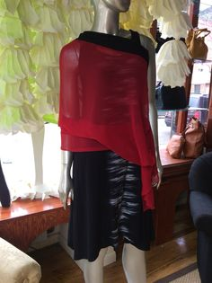 Rock 'N Karma Wear around the shoulder or at the beach a cool look!  $78.00 comes in yellow and red size large and medium