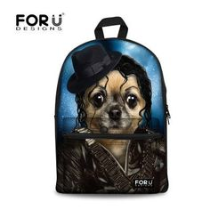 c133a1af13 Zoo Animal Panda Printing Backpack Boys Children School Backpack Panda  Tiger Dog Print Kids Teenager Backpack Mochila Feminina