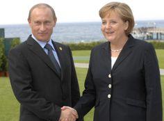Bundeskanzlerin Merkel schlägt Putin Ausweitung von OSZE-Präsenz in Ukraine vor