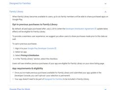 Ver Google Family Library, para compartir compras realizadas en Google Play, llegará el 2 de julio