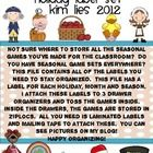 Not sure where to store all of the games you've made from TPT?  Well, look no further!  This set includes seasonal, holiday and monthly labels.  I ...