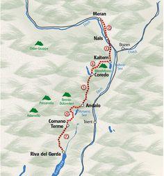 Italien | Vandring fra Dolomitterne til Gardasøen