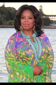 Oprah! What a positive influence she has been on a generation of women! Proves that media can be a positive force.