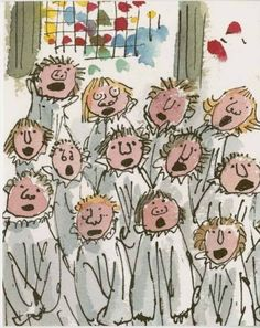 Quentin Blake Ilrations Art Small Drawings Great Works Of