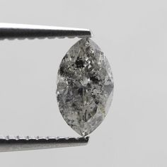 Your place to buy and sell all things handmade Cut And Color, Gray Color, Salt And Pepper Diamond, Marquise Cut, Natural Diamonds, Beading, Etsy Shop, Grey, Gray
