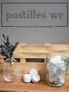DIY Pastilles wc au bicarbonate de soude, acide citrique et huiles essentielles #écologiques #naturel
