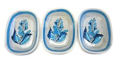 Tonala Mexican Pottery Blue Bird Hand Made by sweetie2sweetie, $64.99