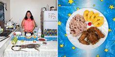 Φωτο-ταξίδι γεύσεων σε όλο τον κόσμο με σεφ... γιαγιάδες!  Νησιά Κέιμαν, Ιγκουάνα από την Ονδούρα με ρύζι και φασόλια