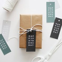 It's not too late! print these cute tags out to spruce up dads gift!