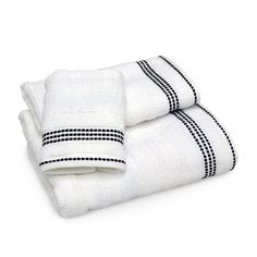 Empire Stripe Towels http://vedere.com/donna-karan #DKNY #sale #promotion #gift #weddinglist #weddingregistry
