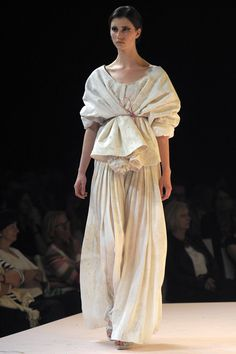 this look by Antwerp Royal Academy of Fine Arts fashion masters student Marius Janusauskas blew me away.