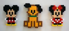 Disney Cutie's Mickey Mouse, Pluto and Minnie Mouse