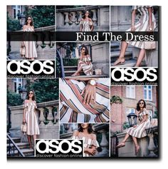 """""""ASOS Dress"""" by mlucyw on Polyvore featuring women's clothing, women, female, woman, misses, juniors and ASOS"""