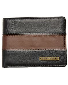RIP CURL CENTRES ALL DAY WALLET - BROWN on http://www.surfstitch.com