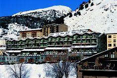 Hotel Piolets, in winter. Ski in, ski out in Grandvalira (Andorra)