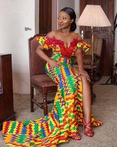 Beautiful Latest Ankara Best Stylish Ankara Styles for Church 2019 African Prom Dresses, African Wedding Dress, Latest African Fashion Dresses, African Dress, African Wear, Ghana Fashion, Africa Fashion, Fashion Kids, Fashion Outfits