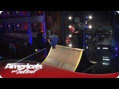 Extreme BMX Tricks on Stage - America's Got Talent American Season 7 - BMX Stunt Team #AGT Audition