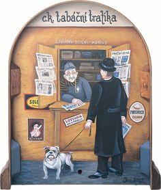| Iva Hüttnerová | Socialist Realism, Stage Decorations, Naive Art, Central Europe, Art Google, Art Pictures, Sculptures, Illustration Art, Poster