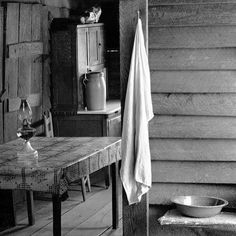"""Summer inspiration from American photographer Walker Evans ""Farmer's Kitchen"" taken in Hale County, Alabama 1936  #summerinspiration #walkerevans #alabama"" Photo taken by @kaufmannmercantile on Instagram, pinned via the InstaPin iOS App! http://www.instapinapp.com (06/14/2015)"