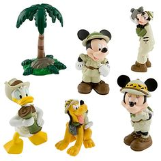 Mickey and Friends on Safari Play Set