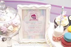 My Little Pony themed birthday party via Kara's Party Ideas KarasPartyIdeas.com Printables, cakes, cupcakes, decor, favors, invitation, and more! #mylittlepony #mylittleponyparty #girlpartyideas #karaspartyideas (10)