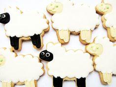 PETIT FOUR: Sheep Cookies